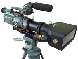 3-D DV Camera Adapter