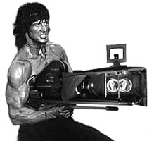 Rambo 3-D shoot
