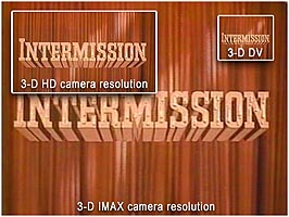 IMAX HD DV comparison