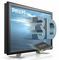 Philips 3-D freeviw TV
