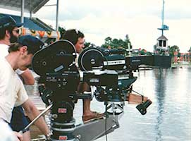 Jaws 3-D shoot