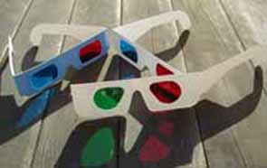 Anaglyphic Glasses