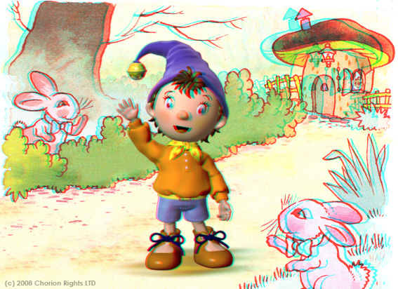 Make way for Noddy in 3-D!