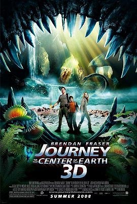 Journey to the Centre of the Earth 3-D film poster
