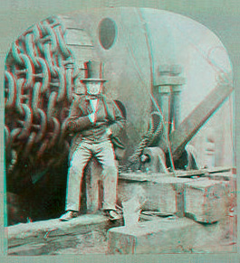 Isambard Kingdom Brunel in 3D