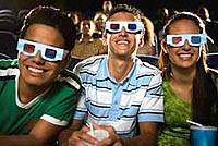 Entertainment in 3-D for the whole family!