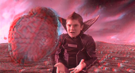 The adventures of Sharkboy & Lavagirl 3-D - brain shot