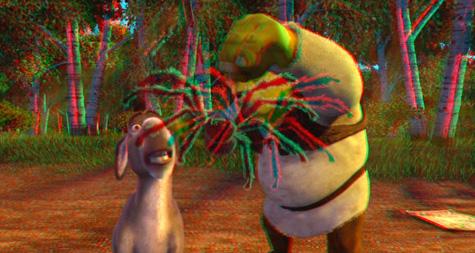 Shrek 4-D - 3-D